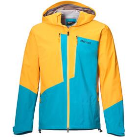 Marmot Huntley Chaqueta Hombre, amarillo/azul